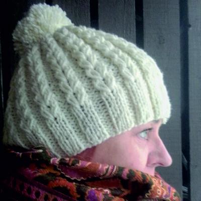 Köynnös tupsumyssy valkoinen tarvikepaketti lana Grossa taito shop verkkokauppa