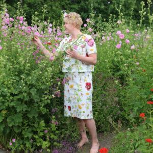 Kenkaveron_puutarha_Vaalea_Ebba_masalin_mekko_verkkokauppa2