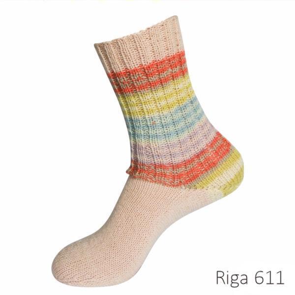 Riga-611-Lana-Grossa-villasukkalanka-100g