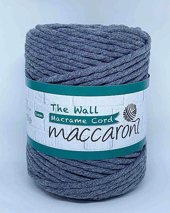 maccaron_macrame cord_keskiharmaa_203