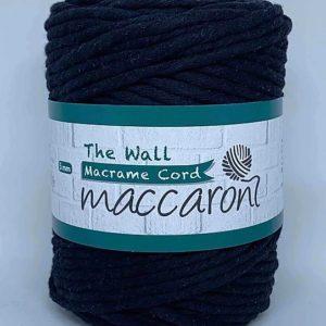 maccaron_macrame cord_musta_106