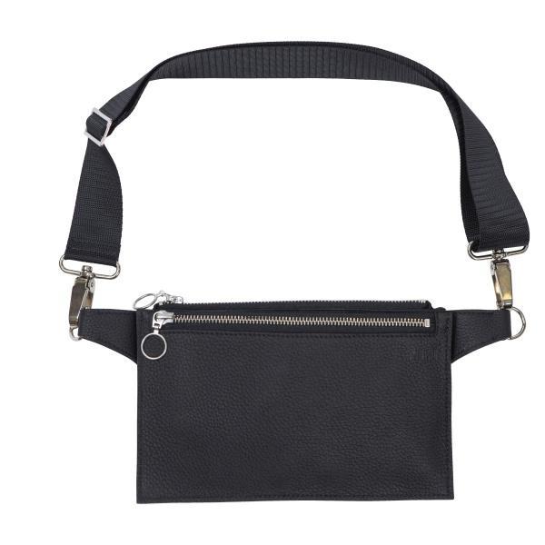 Hippa- laukku musta