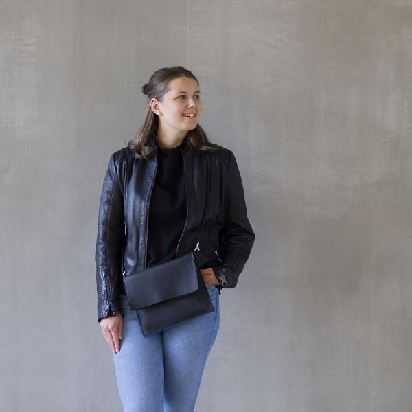 Jemma- laukku Maxi musta fiilis