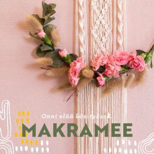 Makramee -ohjekirja_taito Shop_kenkävero
