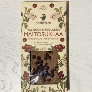 Kenkäveron mustikka-puolukka suklaa_taito shop