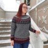 Karjalainen kaarrokeneule_Elämänpuu_Taito Shop