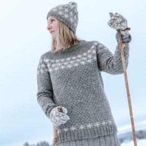lumikinos_saimaa_suomalainen_lampaanvillalanka