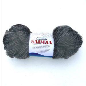 Saimaa_suomen lampaan villalanka_tummanharmaa_taito shop